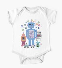 Retro Robots for Sci-fi Nerds and Geeks Kids Clothes