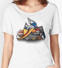 Anime Shonen & Monsters Women's Relaxed Fit T-Shirt