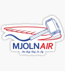 Mjolnair Sticker