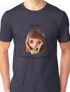 Blythe doll T-shirt:  What Big Eyes You Have! Unisex T-Shirt