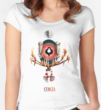 Ciudad de la ceniza Camiseta entallada de cuello redondo