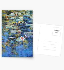 Monet's Pond, Giverny Postcards