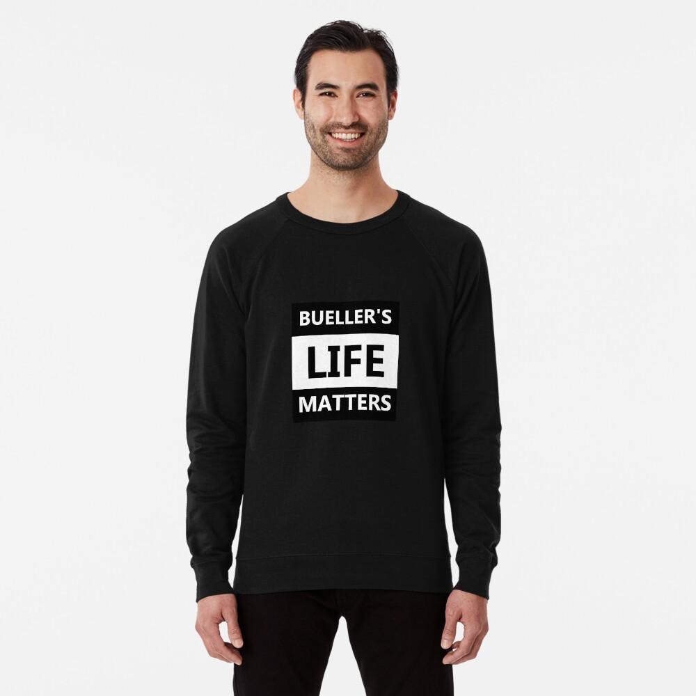 Das Leben von Bühler ist wichtig Leichter Pullover