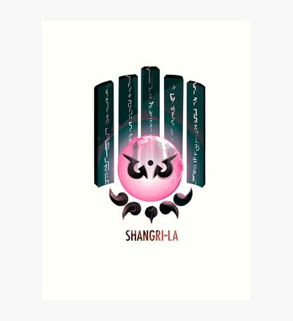 Shangri-la Lámina artística