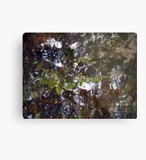 Camouflage Tiles Metal Print