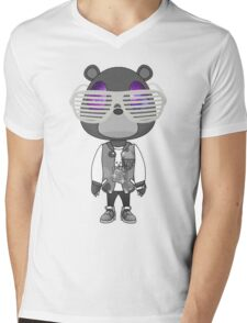 Kanye West Graduation bear Mens V-Neck T-Shirt