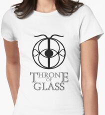 Throne of Glass - Eye of Elena Women's Fitted T-Shirt