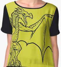 Skyrim Dragon Women's Chiffon Top