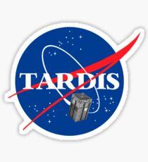 Tardis NASA, Parody Dr Dalek Who Doctor Space Time BBC Tenth Police Box Sticker