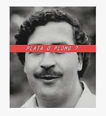 Pablo Escobar patron Photographic Print