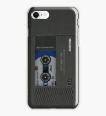 Microcassette Recorder iPhone Case/Skin