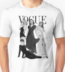 """VOGUE"" Marilyn Monroe, Judy Garland, Audrey Hepburn & Elizabeth Montgomery T-Shirt"