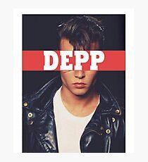 DEPP Photographic Print