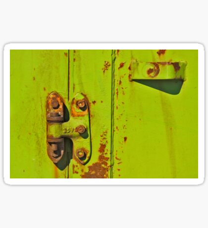 Lime Hinge Sticker
