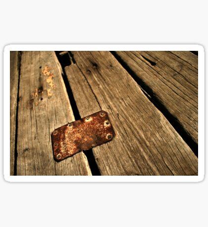 Patch Wood II Sticker