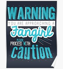 Warning, Fangirl Vr. 2 Poster