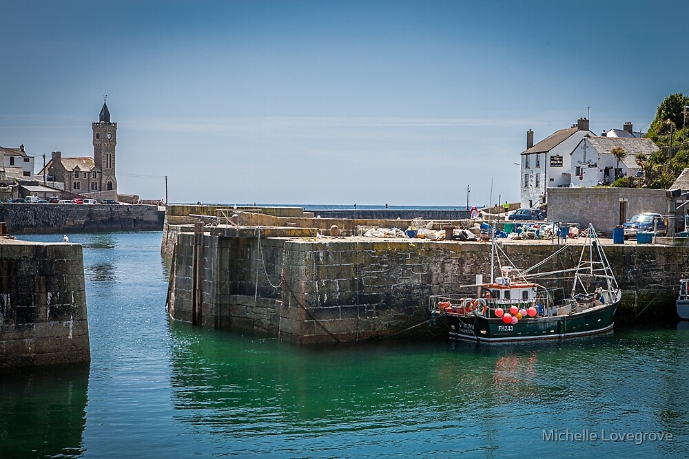Porthleven, Cornwall by Michelle Lovegrove