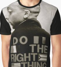 Do The Right Back Graphic T-Shirt