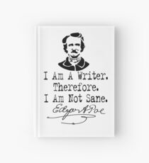 I Am A Writer, Edgar Allen Poe Hardcover Journal