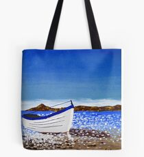 Donegal Dingy (acrylic on canvas) Tote Bag