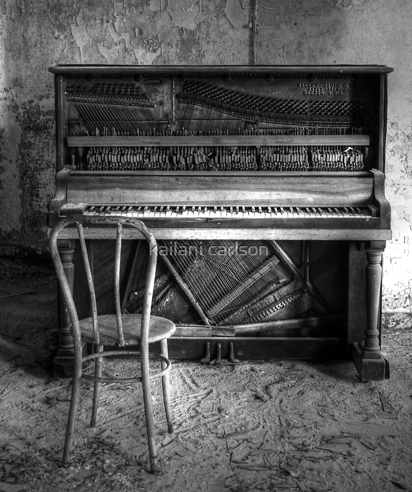Norwich Piano, Hallet, Davis & Co from Boston Massachusetts by kailani carlson