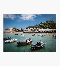 St Michaels Mount, Cornwall, UK Photographic Print