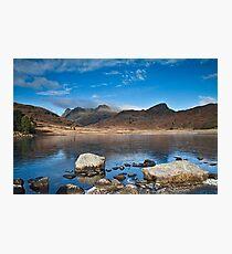 Blea Tarn, Cumbria, uk Photographic Print