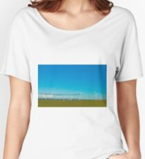 Cornish Windfarm Women's Relaxed Fit T-Shirt