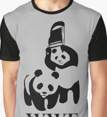 WWF Panda Parody Graphic T-Shirt