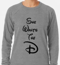 "She Wants the ""D"" Leichter Pullover"