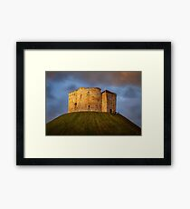Cliffords Tower Framed Print