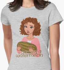I Carried a Watermelon Women's Fitted T-Shirt