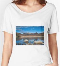 Blea Tarn, Cumbria, uk Women's Relaxed Fit T-Shirt