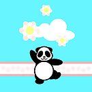 Flowery Panda Dance by jlechuga