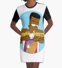 Love & Hate Graphic T-Shirt Dress