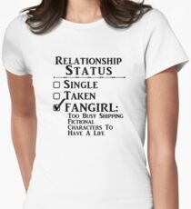 Relationship Status - Fangirl, Fandoms, Multi Fandoms T-Shirt
