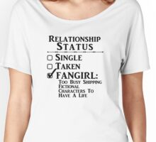 Relationship Status - Fangirl, Fandoms, Multi Fandoms Women's Relaxed Fit T-Shirt