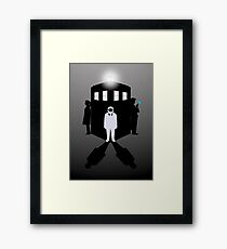 Count The Shadows Framed Print