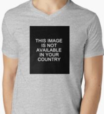 This image is not available in your country Men's V-Neck T-Shirt