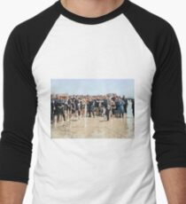 Smile for the camera!! Atlantic City, 1905 Men's Baseball ¾ T-Shirt