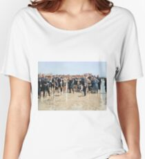 Smile for the camera!! Atlantic City, 1905 Women's Relaxed Fit T-Shirt