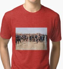 Smile for the camera!! Atlantic City, 1905 Tri-blend T-Shirt