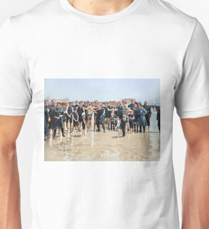 Smile for the camera!! Atlantic City, 1905 Unisex T-Shirt