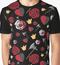 Queen of Hearts icons Graphic T-Shirt