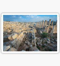 Columns in Jerash Sticker