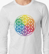 Flower Of Life, Sacred Geometry, Yoga T-Shirt