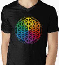 Flower Of Life, Sacred Geometry, Yoga T-Shirt