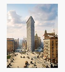 Flat Iron in New York City, ca 1903 colorized Photographic Print