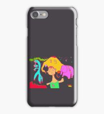 Uncle Barber and His Nomadic Travellers iPhone Case/Skin