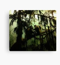 """Family in the Trees"" Canvas Print"